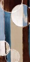 "Blue orbiting moons III by Lanie Loreth - 12"" x 24"", FulcrumGallery.com brand"