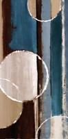 "Blue orbiting moons IV by Lanie Loreth - 12"" x 24"", FulcrumGallery.com brand"
