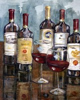 "Wine Tasting II by Heather A. French-Roussia - 16"" x 20"""