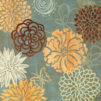 """Floral Soiree II by Rebecca Lyon - 18"""" x 18"""""""