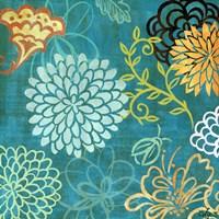 """Floral Soiree I by Rebecca Lyon - 18"""" x 18"""""""