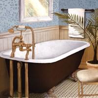 """Afternoon Bath I by Elizabeth Medley - 12"""" x 12"""" - $9.99"""