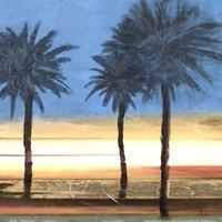"""Coastal Palms II by Patricia Pinto - 12"""" x 12"""""""