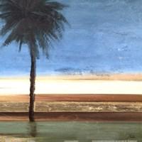"Coastal Palms III by Patricia Pinto - 12"" x 12"""