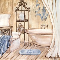 Chateau Bath I Fine Art Print
