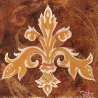Fleur De Lis III Fine Art Print