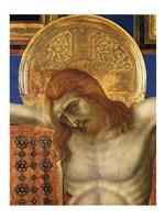Painted Cross Fine Art Print