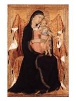 Virgin and Child Fine Art Print