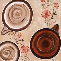 "Morning Java II by Gina Ritter - 6"" x 6"", FulcrumGallery.com brand"