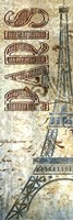 "Paris Panel by SD Graphics Studio - 6"" x 18"""