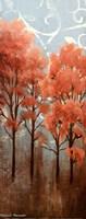 Red Trees I Fine Art Print