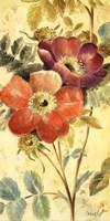 """Fleur In Fleur II by Lanie Loreth - 12"""" x 24"""""""