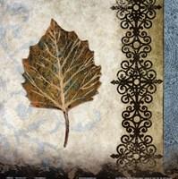 "decorative leaf I by Michael Marcon - 12"" x 12"", FulcrumGallery.com brand"