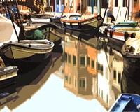 Burano Boats Fine Art Print