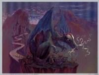 "Green Dragon by Judy Mastrangelo - 8"" x 6"", FulcrumGallery.com brand"