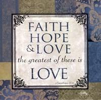 """Love by Elizabeth Medley - 12"""" x 12"""""""