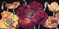 "24"" x 12"" Poppies Art"