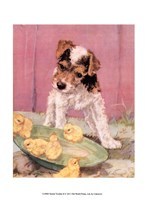 Terrier Trouble II Fine Art Print