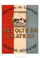 """Recolte Du Chateau - 13"""" x 19"""""""