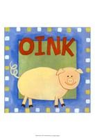 Oink Fine Art Print