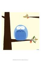 Orchard Owls III Fine Art Print