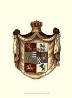Regal Crest I Framed Print