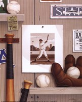 "Baseball 36 by Alan Metz - 8"" x 10"""