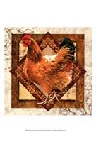 "Mother Hen by Janet Stever - 13"" x 19"", FulcrumGallery.com brand"