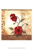 """Red Poppies II by Marianne D. Cuozzo - 13"""" x 19"""" - $12.99"""