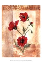 Red Poppies III Fine Art Print
