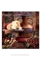 Cheese & Grapes II Framed Print