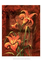 """Day Lily I by Janet Stever - 13"""" x 19"""""""