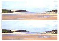 2-Up Sunlit Sands I Fine Art Print
