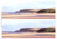 2-Up Sunlit Sands II Fine Art Print