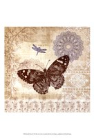 Butterfly Notes II Fine Art Print