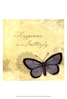 Butterfly Notes XI Fine Art Print