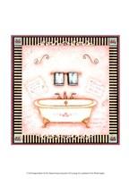 Pampered Bath I Fine Art Print