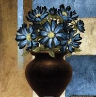 "Floral motif II by Michael Marcon - 12"" x 12"""