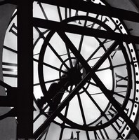 Paris clock II Fine Art Print