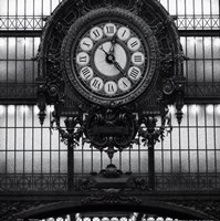 Paris clock I Fine Art Print