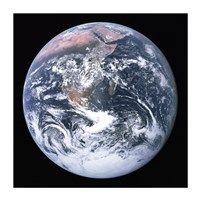 The Earth seen from Apollo 17 Fine Art Print