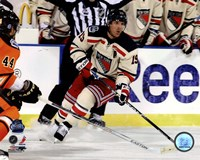 Brad Richards 2012 NHL Winter Classic Action Fine Art Print