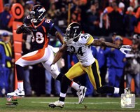 Demaryius Thomas Game Winning Touchdown 2011 AFC Wild Card Playoff Action Fine Art Print