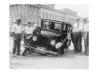 Auto Wreck, USA, 1923 Fine Art Print