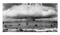 Atom Bomb, Bikini Atoll Framed Print