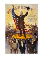 William McKinley Campaign Poster - various sizes