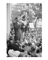 Robert F. Kennedy Core Rally Speech Fine Art Print
