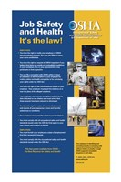 OSHA Job Safety and Health Version 2012 - various sizes