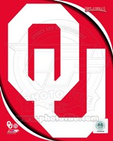 University of Oklahoma Sooners Team Logo Fine Art Print