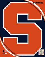 Syracuse University Orangemen Team Logo Fine Art Print